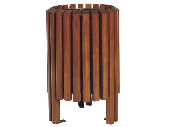 Papeleras for Listones madera exterior